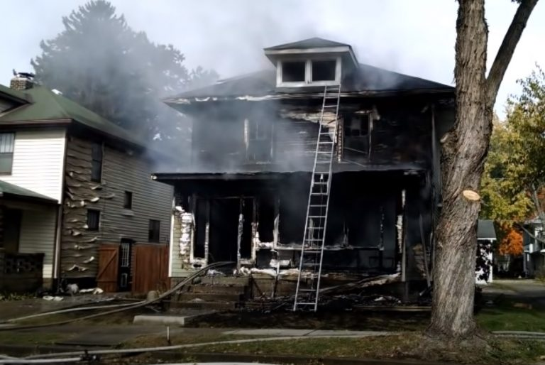 Fire Damage in Maryville Missouri