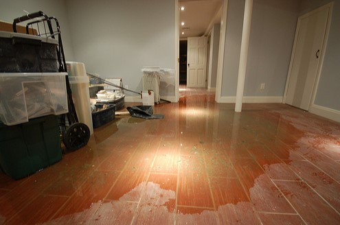Hardwood Floor Water Damage in Sullivan Missouri