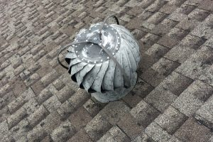 Knob Noster Hail Damaged Roof