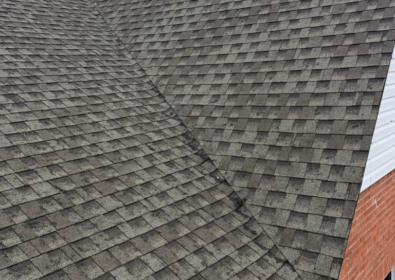 Hail Damaged Asphalt Shingles in Canton Missouri