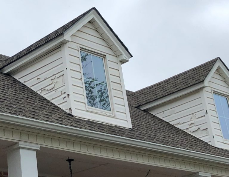 Hail Damaged Asphalt Shingles in Cuba Missouri