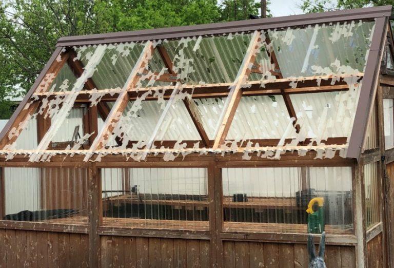 Hail Damaged Roof in El Dorado Springs Missouri